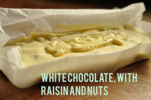 White Chocolate Fruit and Nut